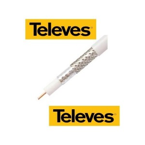 Koaxiálny kábel CU TELEVES 6,9 mm