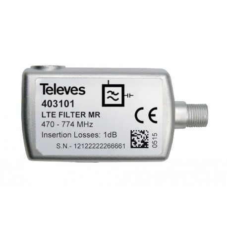 LTE filter TELEVES 470 - 774 MHz