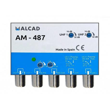 Anténny zosilňovač ALCAD AM-487