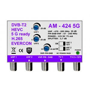 5G READY anténny zosilňovač EVERCON AM-424 5G