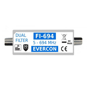 Duálny 5G + LTE filter EVERCON FI-694
