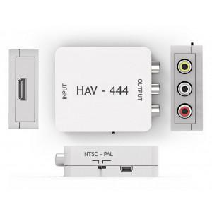 Redukcia HDMI - CINCH Mastercon HAV-444