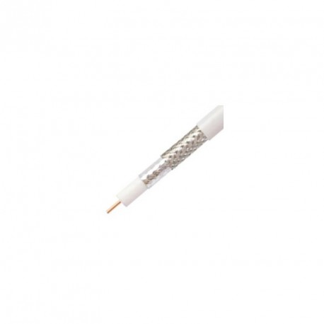 Koaxiálny kábel RG6 priemer 6,5 mm CCS