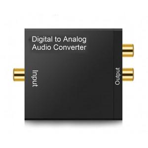 Prevodník audio Mastercon DA-222 SPDIF - RCA cinch