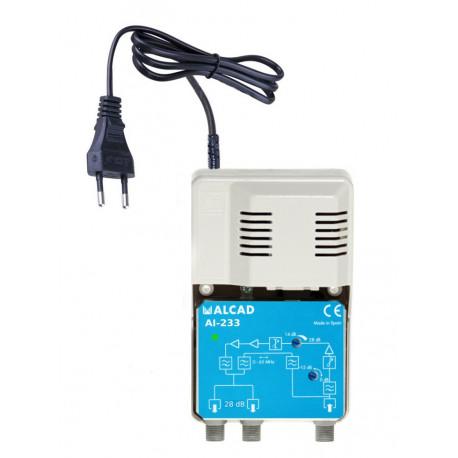 Domový zosilňovač 28 dB ALCAD AI-233